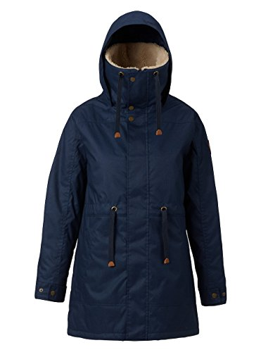 Burton Dames Snowboard Jas WB Hazelton Jacket Mood Indigo Heather S