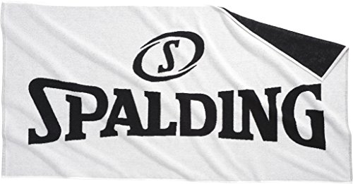 Spalding 300980801 Toalla, Blanco/Negro, Talla Única