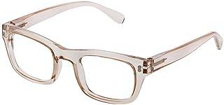 Peepers Women's Venice 2575275 Square Reading Glasses, Tan, 2.75