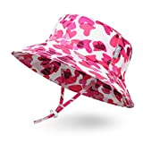 Ami&Li キッズ 日よけ帽子 サンハット 調節紐付き UPF50+ つば広 男の子 女の子に適用ガールズ ボーイズ 海遊び・外出・旅行
