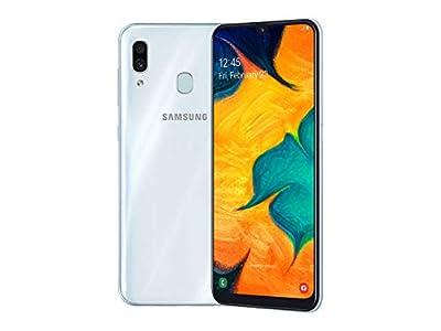 Samsung Galaxy A30 Single SIM 32GB (SM-A305G) Unlocked Phone GSM International Version - White