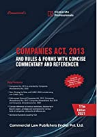 Commercial's Companies Act, 2013 - 11/edition 2021
