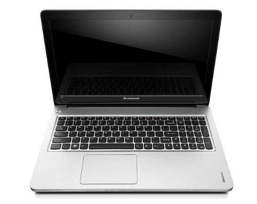 Lenovo Ideapad U510 E 39,6 cm (15,6 Zoll) Ultrabook (Intel Core i7 3517U, 1,9GHz, 8GB RAM, 1TB HDD, 24GB SSD, NVIDIA GF 620M, DVD, Win 8) grau