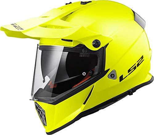 LS2 helm Cross Pioneer H-V geel maat S