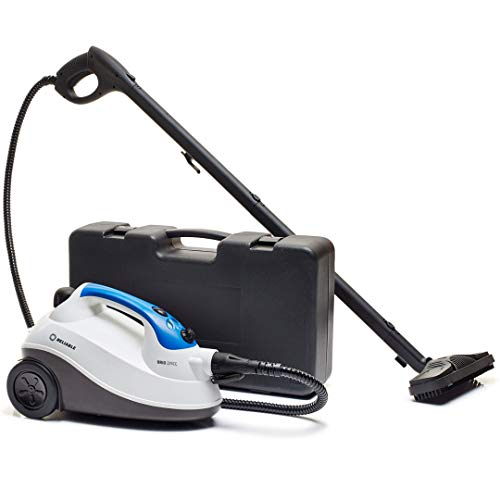 Reliable Brio 225CC Steam Cleaner - Steam Cleaning System with 65 PSI Pressure for Home Use, Steamer for Cleaning Tile, Grout, Hardwood Floor, Freshens Carpet, Steam Cleaner for Cars and Automobiles