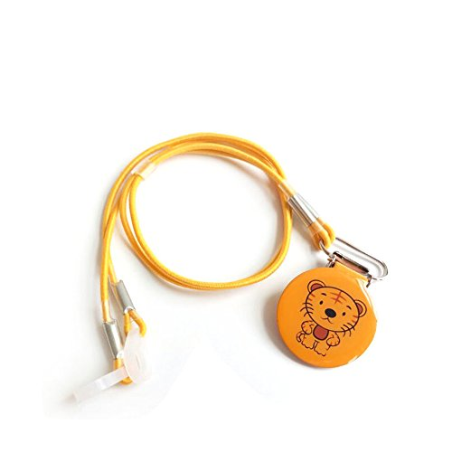 SOUNDLINK Hearing Aids Clips Tiger Printed - Kids Protect BTE and ITE Hearing Aids New Designed Protector Binaural for Children