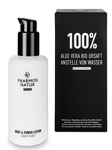 PHARMOS NATUR - Nature of Men - Body & Power Lotion - 150ml