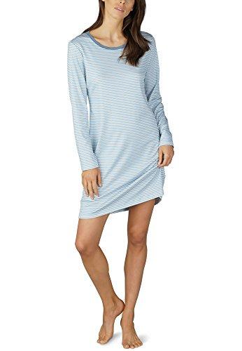 Mey Night Serie Paula Damen Nachthemden Blau M