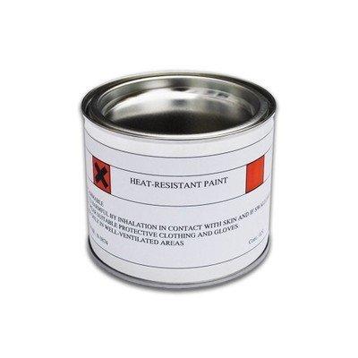 250ml Dark Grau Hitzebeständig Pinsel Auf Selbstbemalen hitzebeständig bis 600C-Ideal für Kaminöfen, Kamine, BBQ 's, Feuerstellen, auspuffe