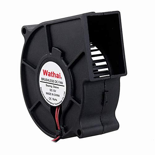 Wathai 12V 75mm x 30mm DC Brushless Cooling Turbo...