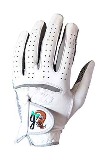 Grip it Girl Girl's Genuine Cabretta Leather Golf Glove with a Unique Stable Grip Left Hand. Youth,Junior Sizes. Girls, Ladies, Women Brand