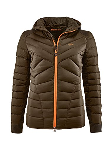 Blaser Daunen Jacke Damen braun Jagdjacke Freizeitjacke Damen Jagdbekleidung (38)