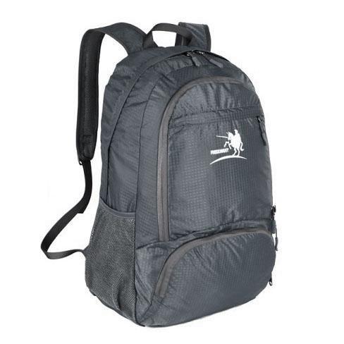 BXT al aire libre impermeable 4bolsillos hombro 35L plegable mochila de viaje de nailon con soportes para botellas de