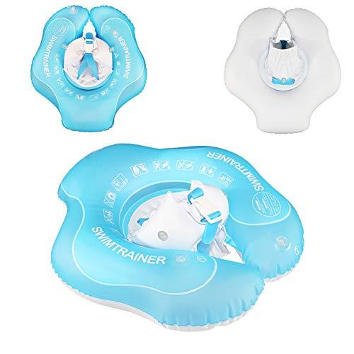 AHAQ Babyschwimmring, aufblasbarer Babyschwimmring, sicheres und ungiftiges Material, Schwimmtrainingsgerät, Schwimmbadespielzeug mit Schulterstütze,S