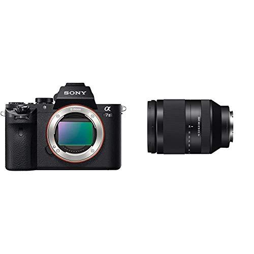 Sony Alpha 7 II   Spiegellose Vollformat-Kamera (24,3 Megapixel, schneller Hybrid-Autofokus, optische 5-Achsen-Bildstabilisierung im Gehäuse) & FE 24-240 mm f/3.5-6.3 OSS   Vollformat, Zoom Objektiv