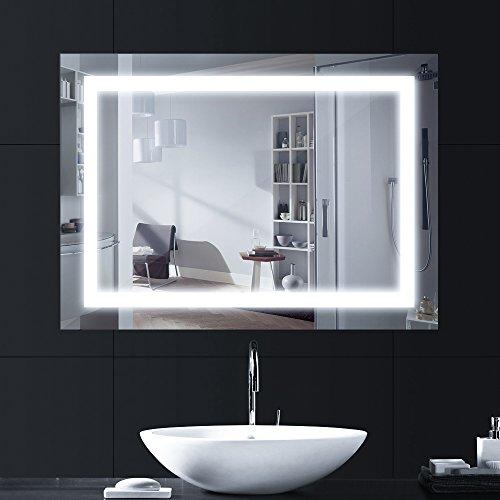 Miroir salle de bains led