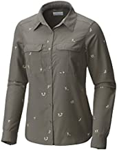 Columbia Pilsner Peak Novelty Long Sleeve Shirt, Charcoal Hikers, 3X