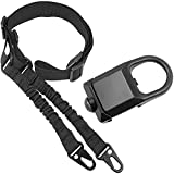 Pecawen Picatinny Rail Sling Mount Attachment with Two Point Sling Traditional Adjustable for Outdoors