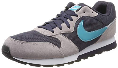 Nike Herren MD Runner 2 ES1 Traillaufschuhe, Mehrfarbig (Gridiron/Teal Nebula-Pumice 002), 42 EU