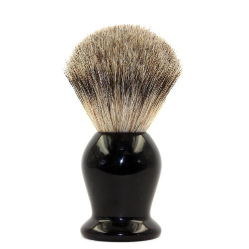 EcoToKo Basic Pure Badger Shaving Brush With Black...