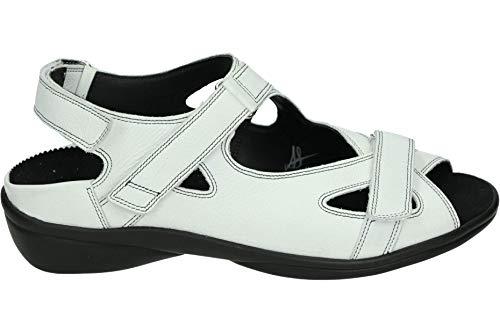 Durea 7258 H - Platte sandalenDames Sandalen - Kleur: Beige - Maat: 38.5