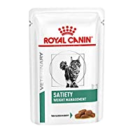 ROYAL CANIN Satiety Weight Loss Support Veterinary Health Nutrition Cat Food 48 x 85g pouches