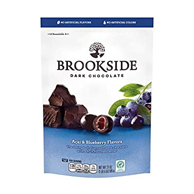 Brookside Dark Chocolate Candy , Acai & Blueberry, 21 Ounce Bag