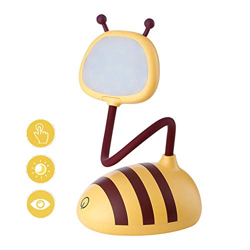 CZHJG Klappaufladung Kinder Schüler Touch Reading Eye Light High Light Weiß 8X8X26Cm