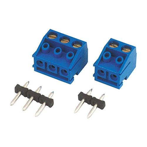 Regleta de conexión componible para Circuito Impreso 2 Terminales 10 mm Electro...