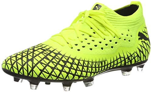 Puma Herren Future 4.2 Netfit FG/AG Fußballschuhe, (Yellow Alert Black 03), 43 EU