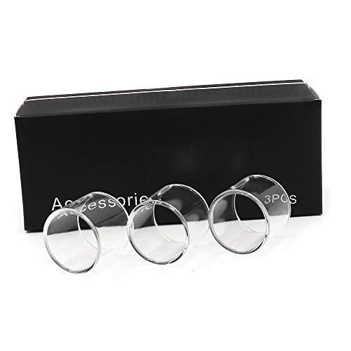 Denghui-ec, 3 Piezas de Repuesto de Vidrio Pyrex for KangerTech Kanger Subtank Mini/SUBOX Mini, Sin Tabaco ni nicotina