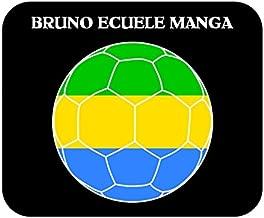 Bruno Ecuele Manga (Gabon) Soccer Mouse Pad