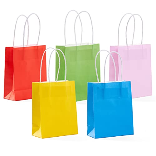 THE TWIDDLERS 25 Bolsas de Papel Kraft para Regalos - Personalizable Bolsas Pequeñas