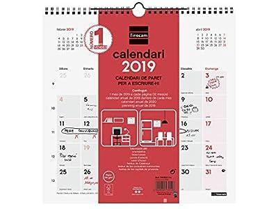 Finocam 781530019 - Calendario de pared 2019 de Cabero Group 1916, S.A.
