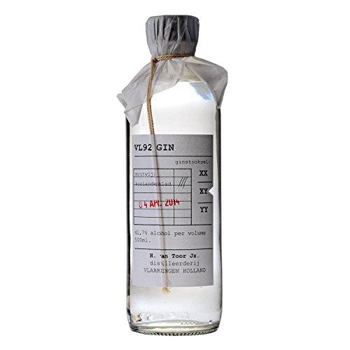 VL 92 Gin 0,5l, alc. 41,7 Vol.-%, Gin Niederlande
