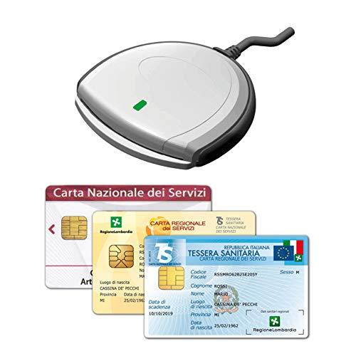 SCR3310 V2.0 - Nuovo Lettore USB per la Tessera Sanitaria Carta...