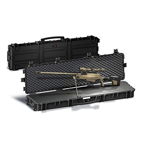 Explorer Cases Explorer X-Long Sniper Rifle Case 15416B, Black, 60 5/8' x 14 13/16' x 6 5/16'