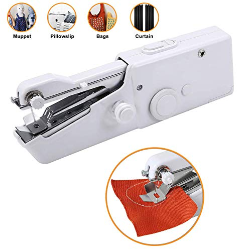 Best Deals! LIRec Handheld Sewing Machine Hand Sewing Machine Portable Mini Electric Sewing Machine ...