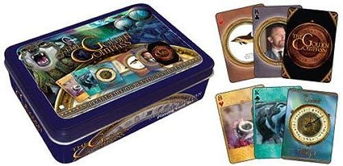 Golden Compass Playing Card Tin by Aquarius