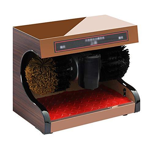 Chun Li Schuhcreme, Haushaltsschuh wechselnde Stuhl all-in-one-Typ vollautomatische öffentliche elektrische sensorische Bürsten, in 2 Farben Schuhbürsten ( Color : Rose gold , Size : 37x21x29cm )