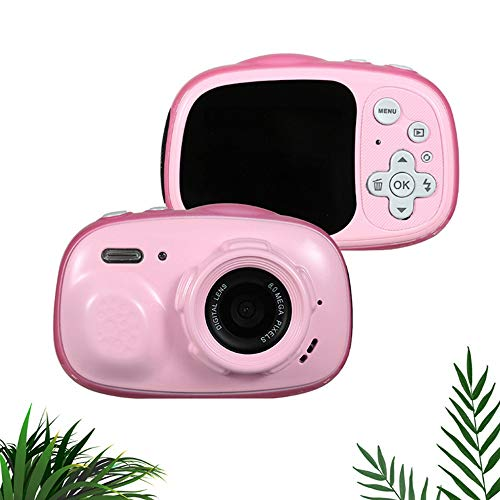 Check Out This Yybest Kids Camera Toy Selfie Kids Waterproof Digital Cameras for Kids 720P 8MP 2.0 I...