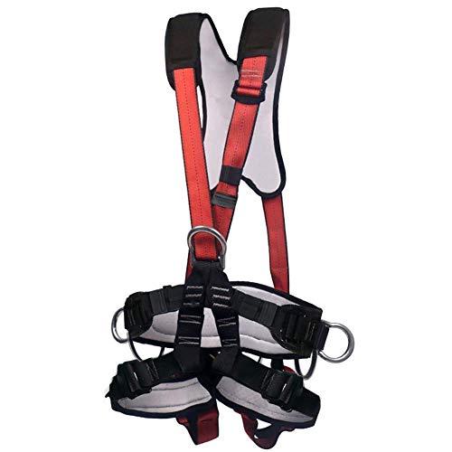Bdesign Harnais d'escalade, Femmes Homme Body Demi-Enfant Ceintures de sécurité Safe for l'alpinisme Escalade, Alpinisme Outward Fire Band Rescue, Cette Formation Se