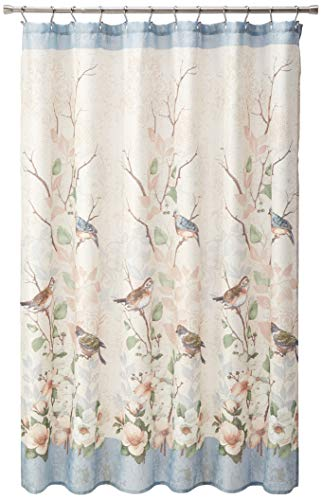 Avanti Linens Love Nest Collection, Shower Curtain, Multicolor
