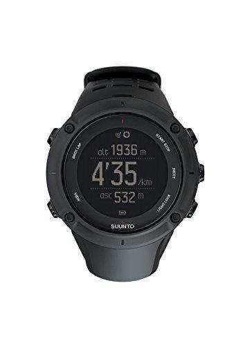 Suunto - Ambit3 Peak Black - Reloj con GPS Integrado, Unisex, Negro, Talla Única