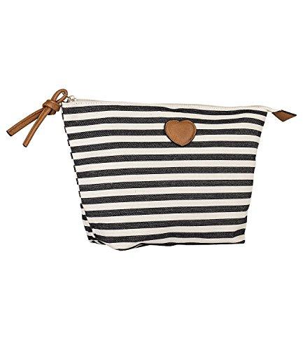 SIX Trendige Kosmetiktasche im maritimen Stil [Kulturbeutel für Frauen & Mädchen] - Premium Schminktasche » beliebt bei Reisen « Kinder Kosmetikbeutel - Hochwertige MakeUp Tasche (129-635)
