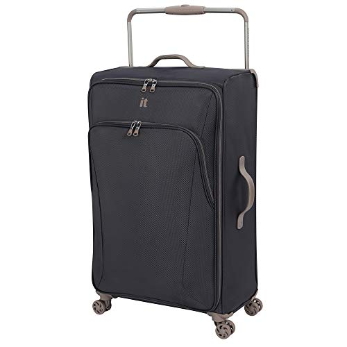 it luggage Sprightful World's Lightest Softside Spinner, Pewter, Checked-X-Large 32-Inch