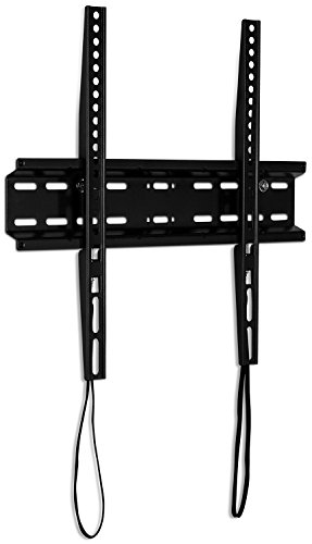 Mount-It! Low-Profile TV Wall Mount | Thin Fixed TV Mount | Ultra-Slim Flush TV Mount for 32-55 Inch TVs | Compatible VESA up to 400x400mm | 77 Lb. Capacity
