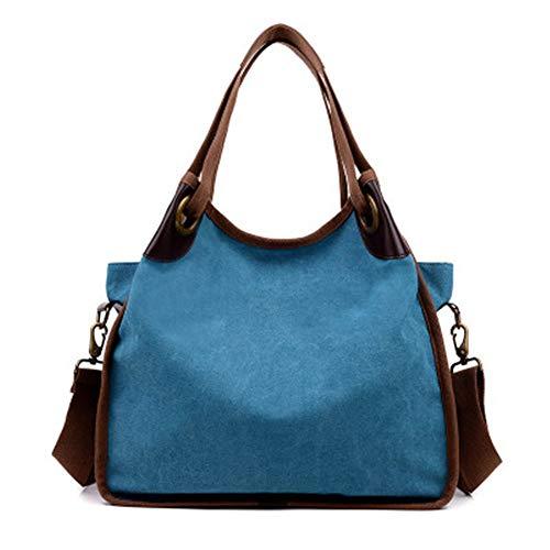 Dayfine Travistar Women Multifunction Shoulder Bag Canvas Backpack Purse Crossbody Casual Travel Daypack Tote Bags Handbag
