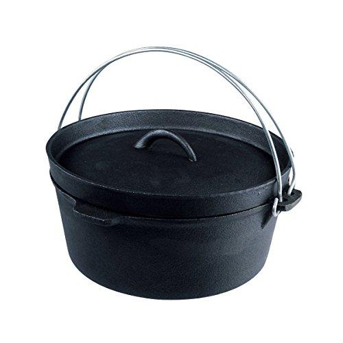 BUNDOK(バンドック) ダッヂ オーブン リッドリフター付 BD-381 4.2L バーベキュー キャンプ 料理