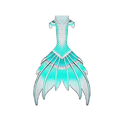 Cola de Sirena Cola De Sirena Adulto Cola De Sirena Bebe Traje De Baño Sirena Personalizado Princesa. (Color : Style-D, Size : Tailored)
